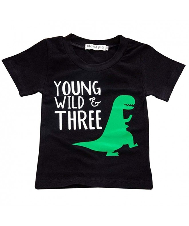 UNIQUEONE Little Dinosaur T Shirt Sleeve