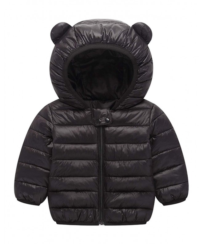 LNJLVI Hooded Cotton Winter Windproof