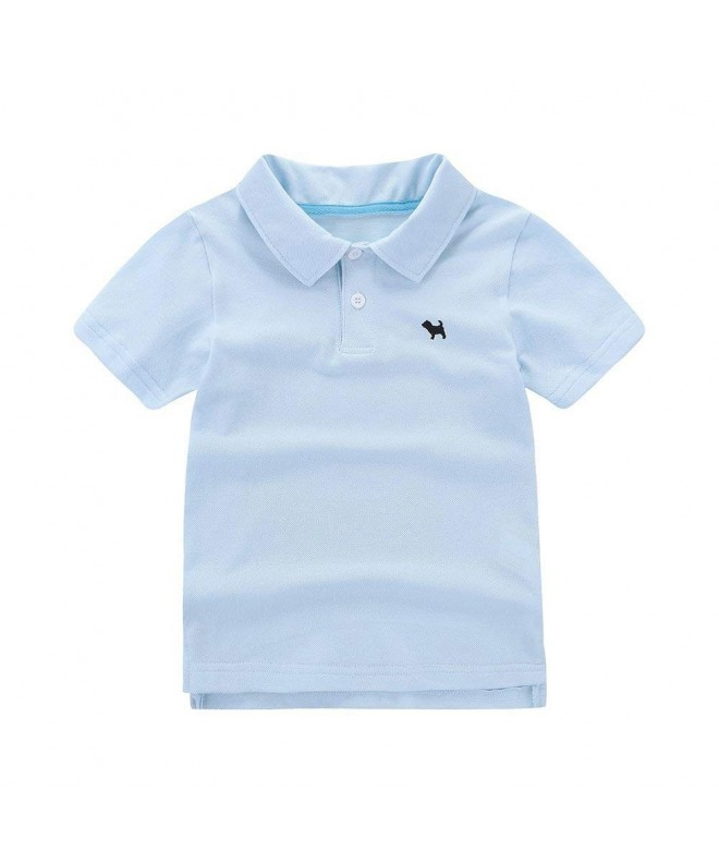 Motecity Fashion Turndown Embroidery Polo Shirt