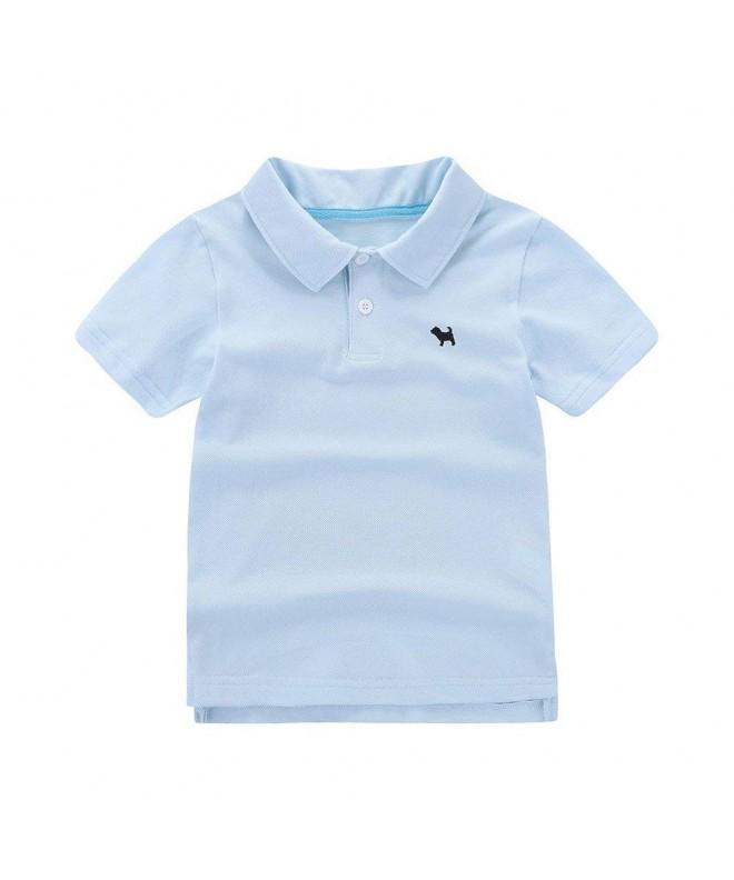 Motecity Fashion Turndown Embroidery Polo Shirt