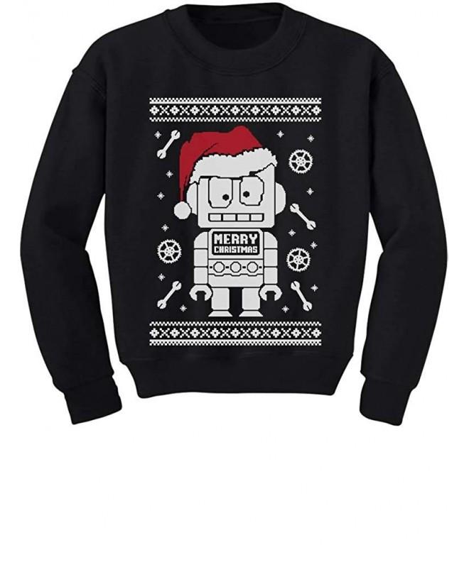 TeeStars Robot Christmas Sweater Sweatshirt