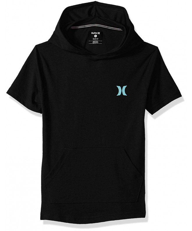 Hurley Short Sleeve Hooded Pullover