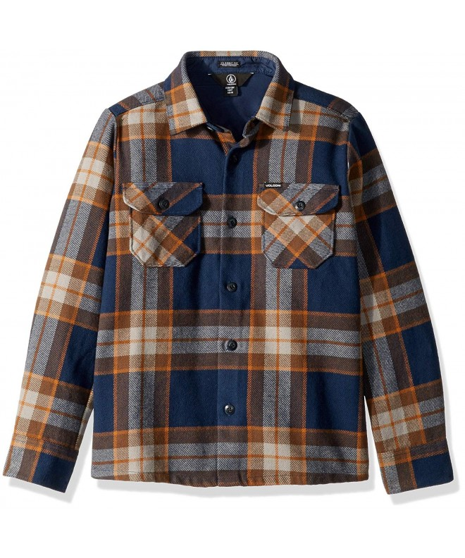 Volcom Randower Sleeve Flannel Button