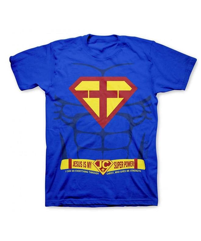 Super Power Kidz Tee Royal