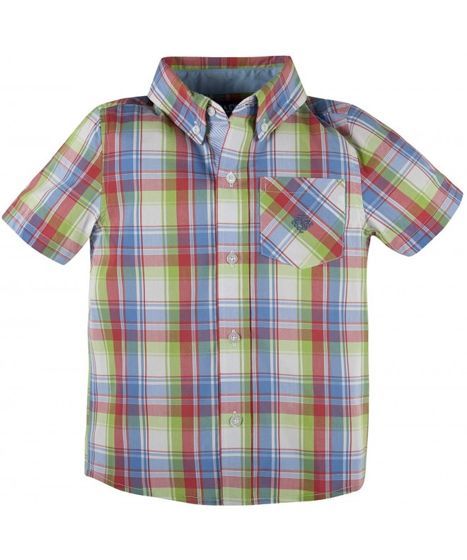 Andy Evan Little Madras Sleeve