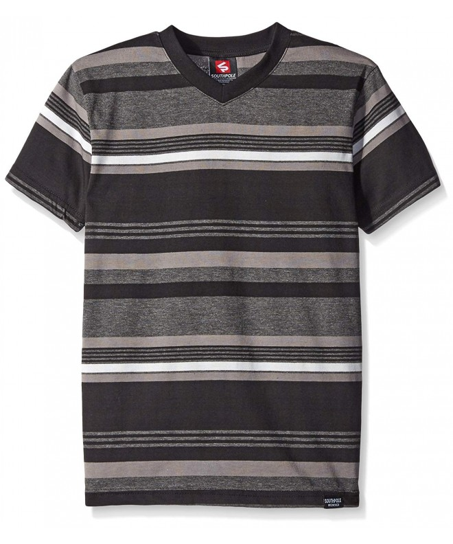 Southpole V Neck Stripe Stripes Combined
