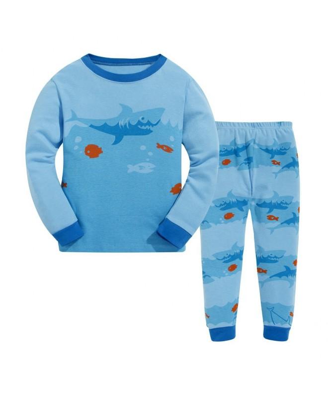 Pajamas Cotton Sleeve Sleepwear Clthoes