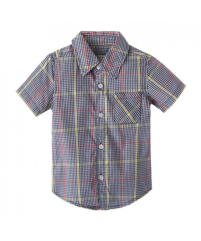 Coralup Little Short Sleeve Checked