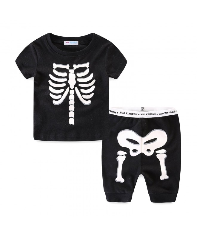 Mud Kingdom Skeleton Pajamas Sleeve