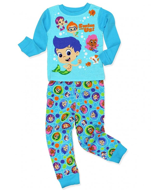 Bubble Guppies Toddler Sleeve Pajamas