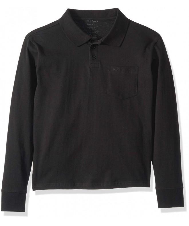 RVCA Boys Grade Sleeve Shirt