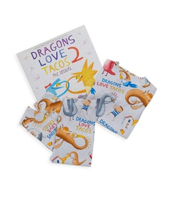 Books Bed Dragons Tacos Pajamas