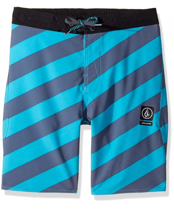 Volcom Stripey Elastic Youth Boardshort