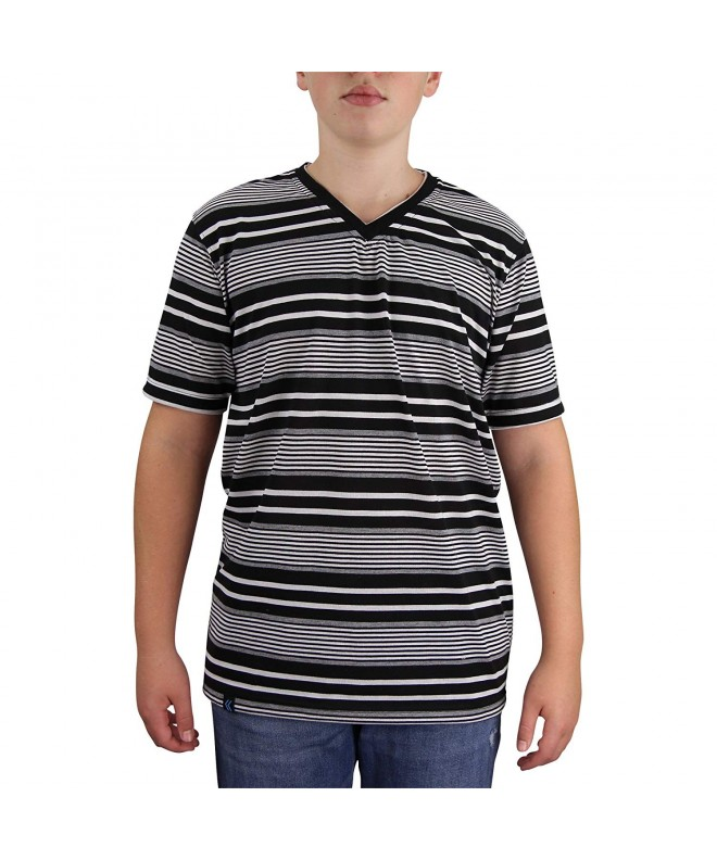 STREET RULES Fashion Stripe T Shirt