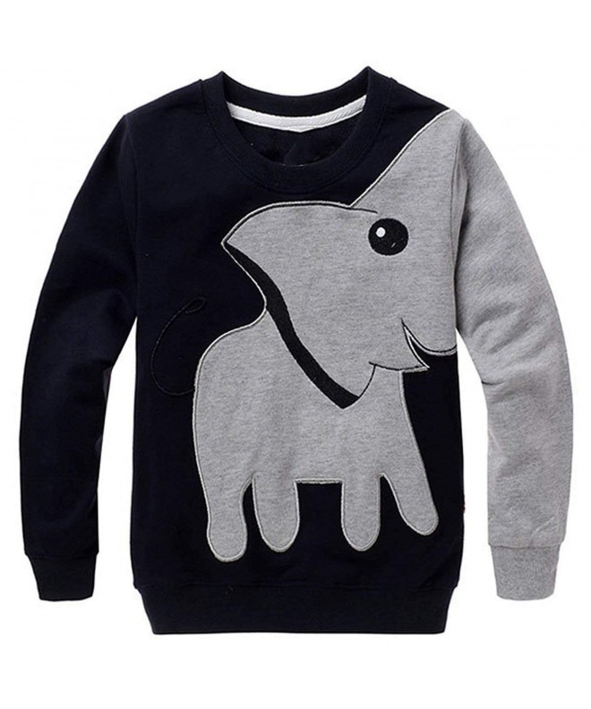 Jomago Shirts Toddler Elephant Sweatshirt