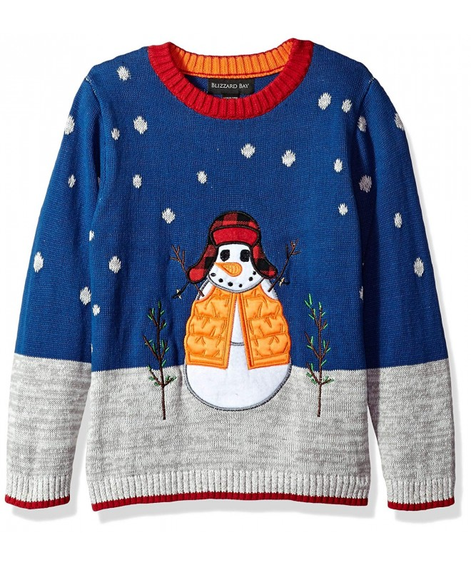 Blizzard Bay Boys Snowman Sweater