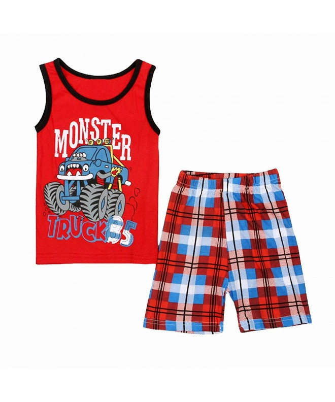 Monster Outfit Little Cotton Pajamas