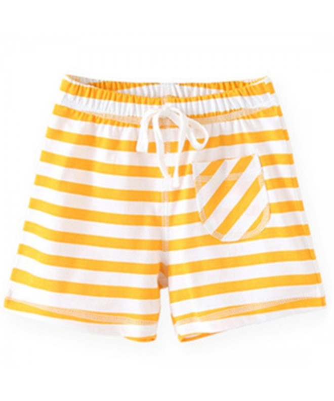 Ding Dong Girls Striped Shorts