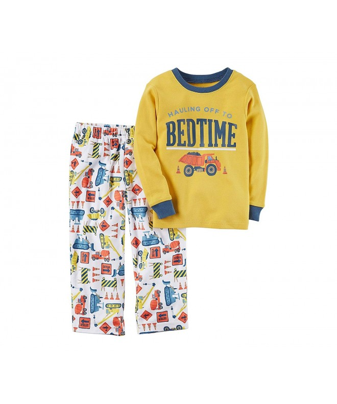 Carters 12M 12 Bedtime Construction Pajama