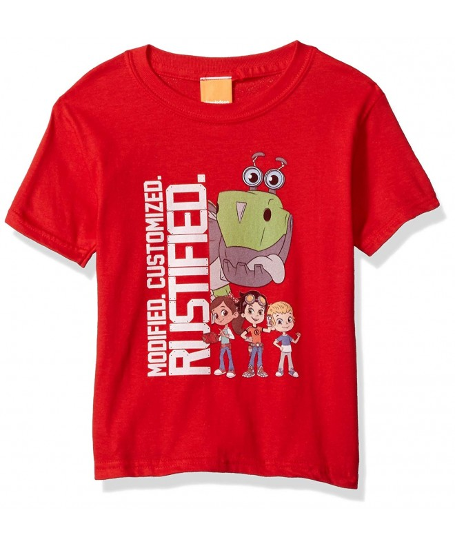 Nickelodeon Rusty Rivets Sleeve T Shirt