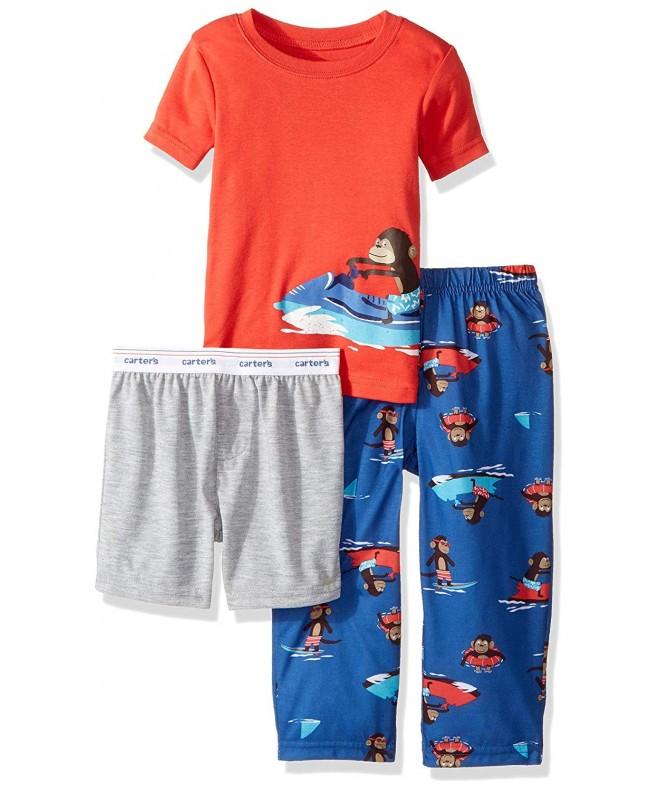 Carters Little Boys 3 Piece Pajama