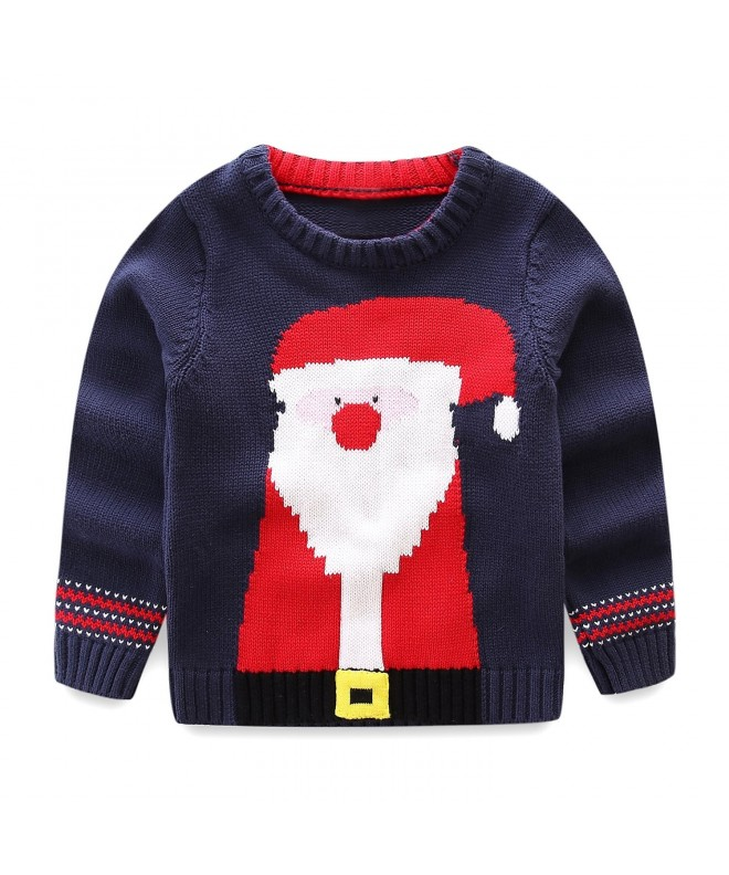 LittleSpring Little Sweater Christmas Santa