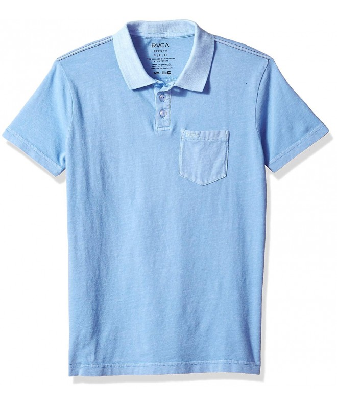 RVCA Boys Pigment Polo Shirt
