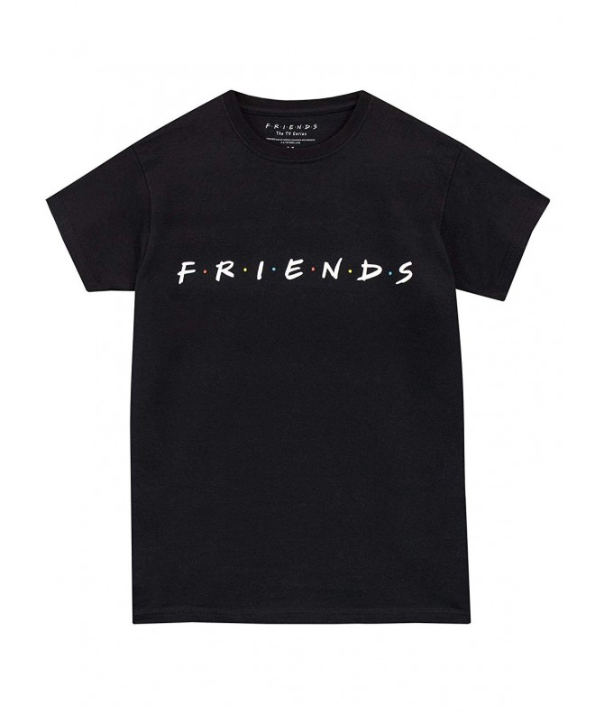 Friends Boys T Shirt Black