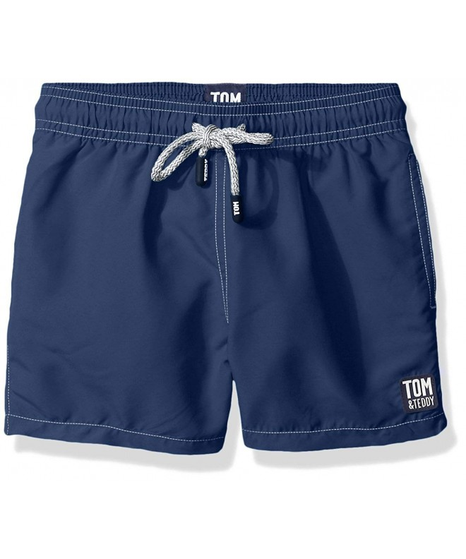 Tom Teddy Boys Solid Trunks
