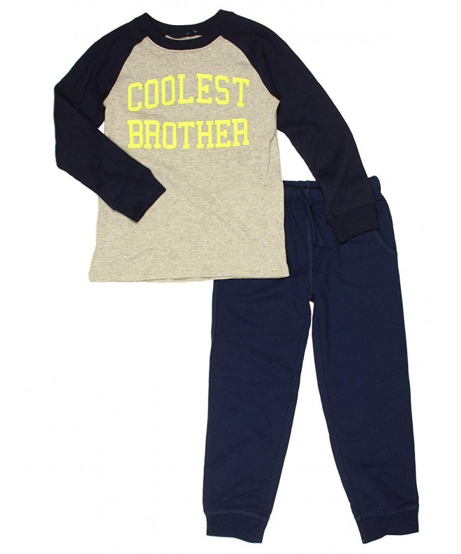 Carters Coolest Brother Raglan Joggers