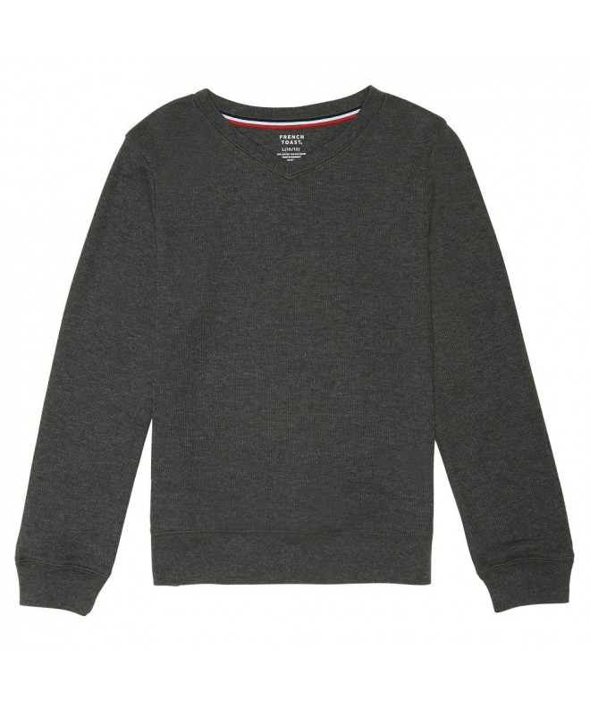 French Toast Boys Sleeve Pullover