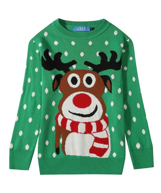 SSLR Reindeer Pullover Christmas Sweater