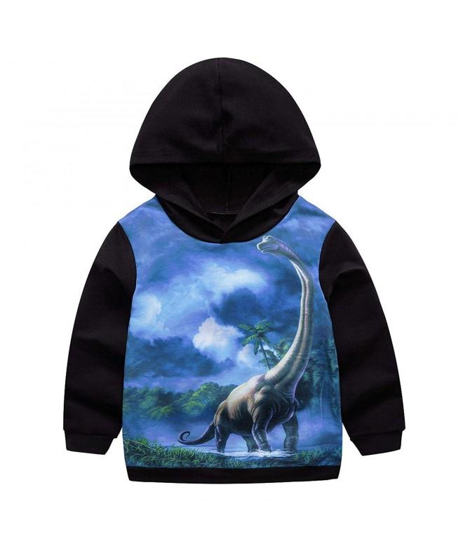 Garsumiss Toddler Hoodie Dinosaur Sweatshirt