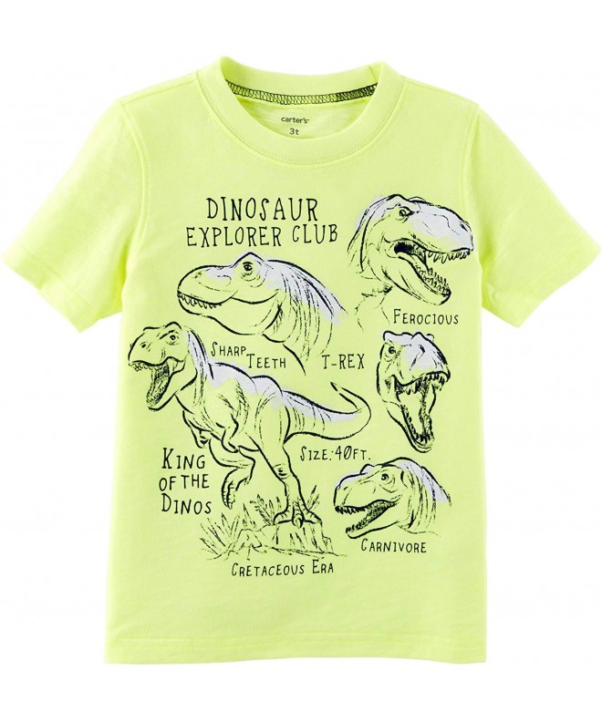 Carters Boys Short Sleeve Gator