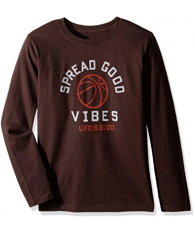 Life Good Longsleeve Basket Darkest