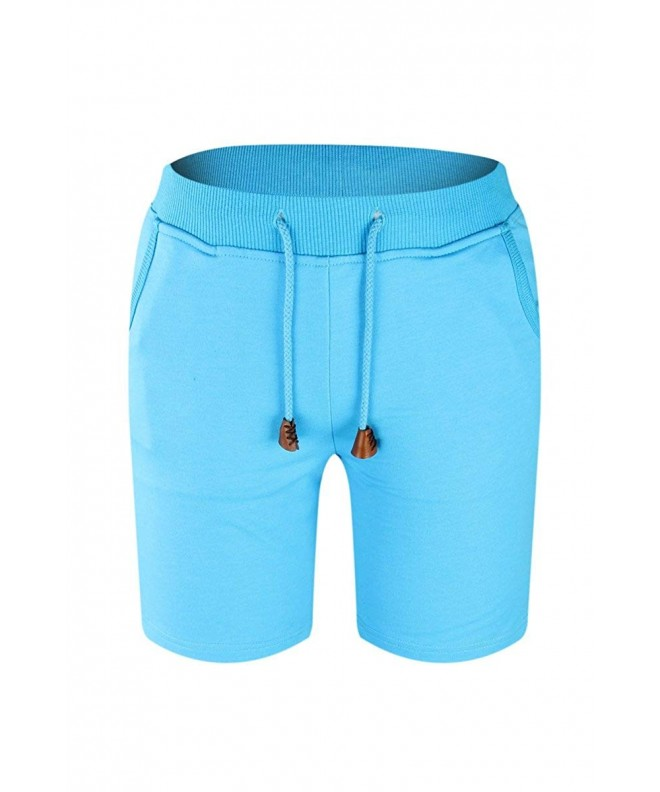 MINSNOWLER Shorts Cotton Elastic Casual