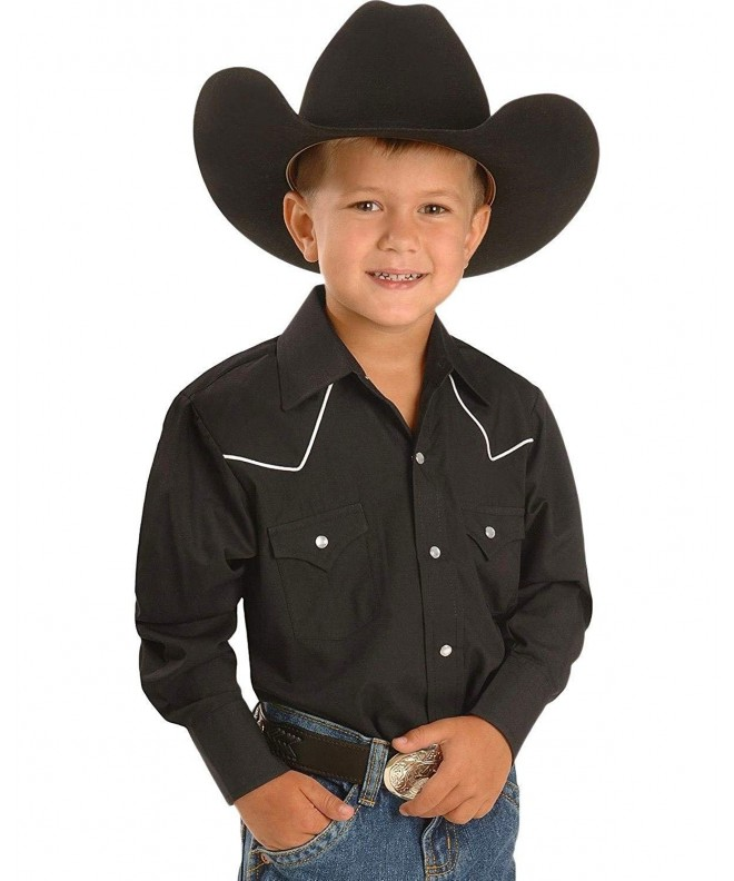 ELY CATTLEMAN Boys Western Shirt