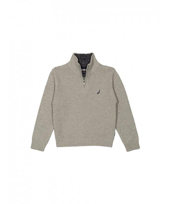 Nautica Ottoman Stitch Solid Sweater