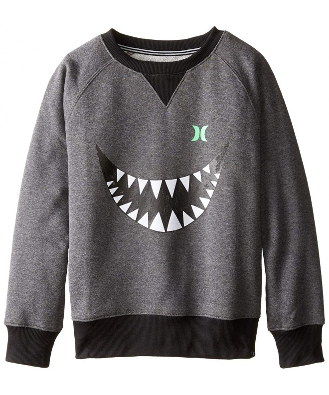 Hurley Boys Shark Charcoal Heather