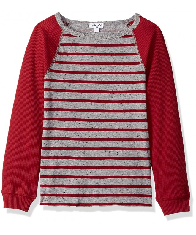 Splendid Boys Yarn Stripe Raglan