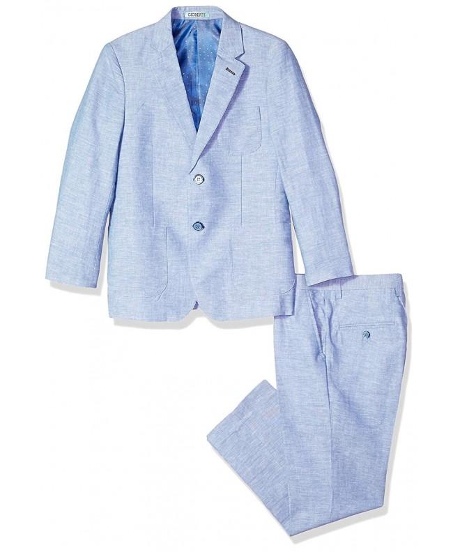 Gioberti Linen Jacket Dress Pants