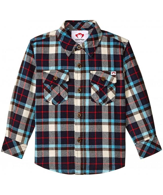 Appaman N9FL2 Boys Flannel Shirt