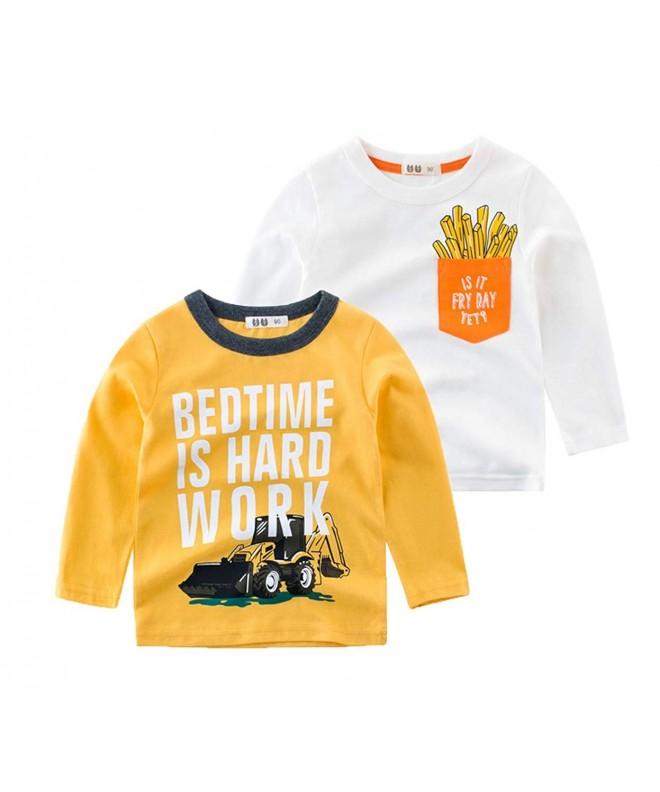 Koupa 2 Pack Fashion T Shirts 2 8Years
