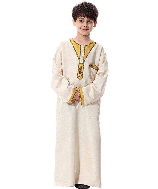 GladThink Boys Muslim Thobe Sleeves