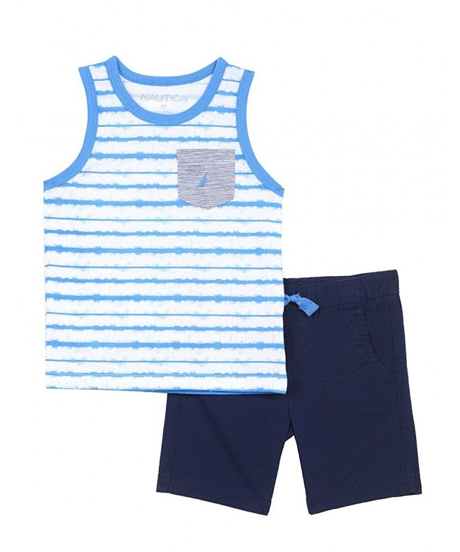 Nautica Boys Piece Tank Shorts