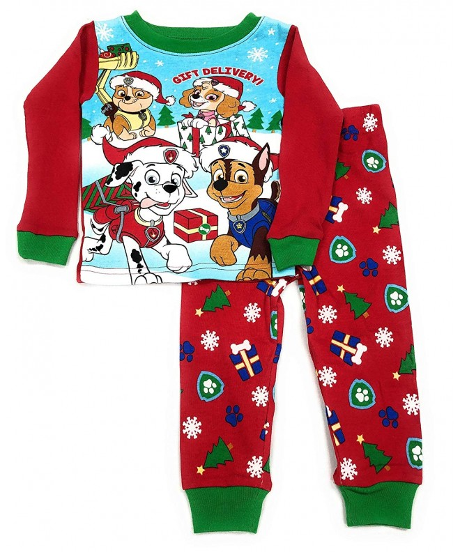 Patrol Little Toddler Christmas Pajama
