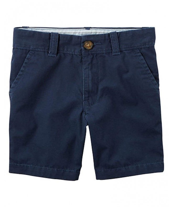 Carters Boys Navy Uniform Shorts