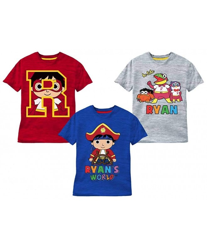 Ryans World 3 Pack T Shirts