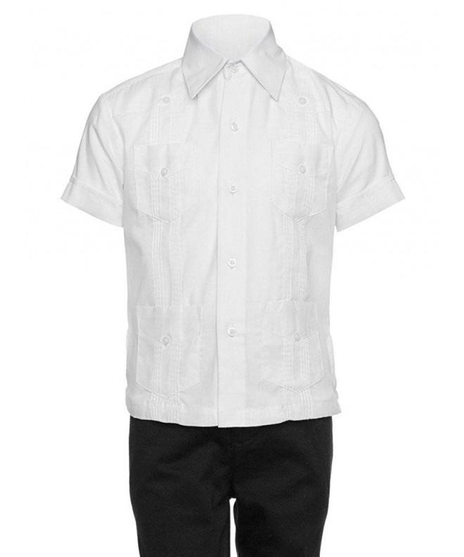 Gentlemens Collection Guayabera Shirt Boys
