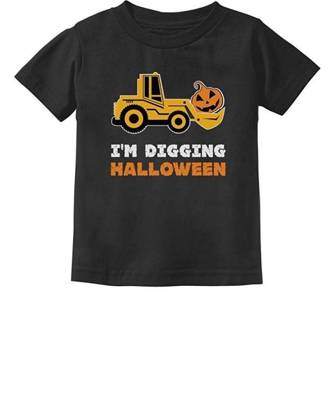 Digging Halloween Pumpkin Tractor Toddler